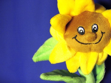 sunflower stuffed toy