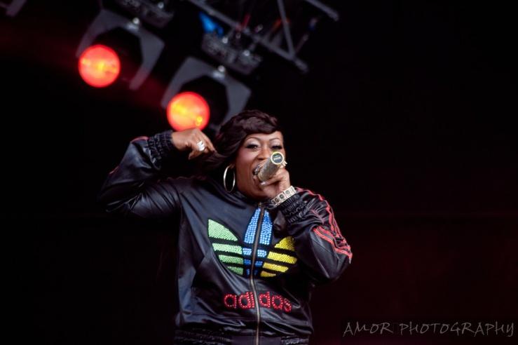Missy Elliott Onstage