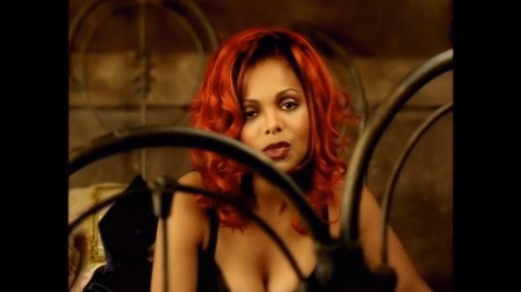 still shot from Janet Jackson's